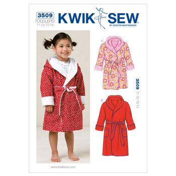 Kwik Sew Pattern K3509 Toddlers' Robes