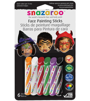 10MM Nib Size Water Soluble Face Paint Stick, Face Painting Pens