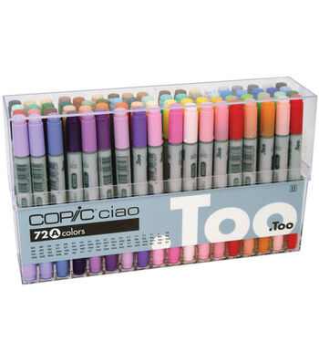 Copic Ciao Marker Set-72PK/Set A