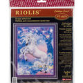 Unicorn Stamped Cross Stitch Kit 14 Count