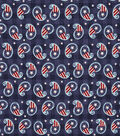 Patriotic Cotton Fabric 44\u0027\u0027-Paisley Stars