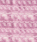 Kathy Davis Rayon & Spandex Apparel Fabric -Mauve Tribal