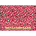 Keepsake Calico Cotton Fabric -Packed Floral Coral