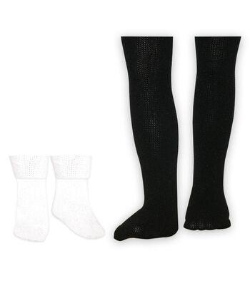 Springfield Boutique Tights & Socks-White/Black