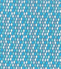 Keepsake Calico Cotton Fabric 43\u0022-Spa Diamond Geo