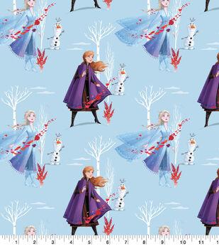Disney Frozen 2 Cotton Fabric-North Winds