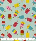 Snuggle Flannel Fabric-Popsicle Fun
