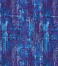 Keepsake Calico Cotton Fabric 43\u0022-Dark Blue Blender