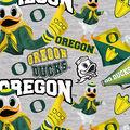 University of Oregon Ducks Cotton Fabric-Collegiate Mascot