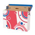 Bulletin Board Storage Box File \u0027n Save System, Pack of 2