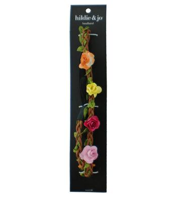 hildie & jo Flowers Headband-Multicolored