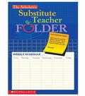Scholastic Teaching Resources Substitute Teacher Folder, Pack of 10