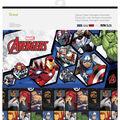 Cricut 12 Pack 12\u0027\u0027x12\u0027\u0027 Marvel Avengers Assemble Deluxe Papers