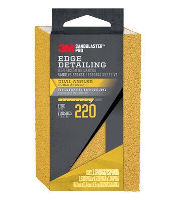 3M Sandblaster Pro 220 Grit Edge Detailing Sanding Sponge