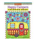 Adult Coloring Book-Design Originals Happy Campers