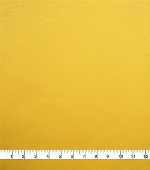 Knit Solids Pima Cotton Spandex Fabric-Mimosa