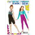 Kwik Sew Girls Casual-K3887