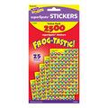 Frog-tastic! superSpots Stickers Value Pack 2500 Per Pack, 3 Packs