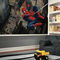 York Wallcoverings Pre Pasted Mural-Ultimate Spiderman Cityscape