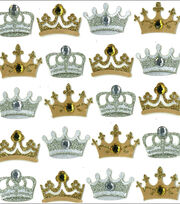 Jolee's Mini Repeats Stickers-Crowns, , hi-res
