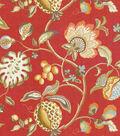 Upholstery Fabric 54\u0022-Brighton Scarlet