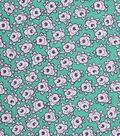 1930\u0027s Cotton Fabric 43\u0022-Simple Flower Green