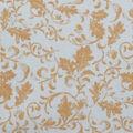 Harvest Cotton Fabric-Leaf Scrolls on Ivory