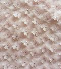 Sew Sweet 3D Flowers with Foil Fabric 49\u0027\u0027-Pink