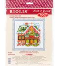 RIOLIS 6\u0027\u0027x6\u0027\u0027 Counted Cross Stitch Kit-Cabin with Bell