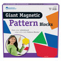 Learning Resources 47 pk Giant Magnetic Pattern Blocks