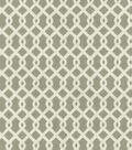 Home Essentials Lightweight Decor Fabric 45\u0022-Lexington Lattice Smoke