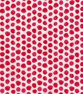 Keepsake Calico Cotton Fabric-Red Shaded Dot