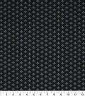 Mardi Gras Cotton Fabric-Fleur De Lis Black