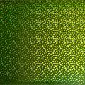 Cricut Premium Vinyl Holographic Art Deco Roll-Lemongrass