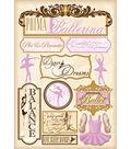 Karen Foster Ballet Stickers-Prima Ballerina