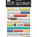 Soft Spoken Themed Embellishments-Today Pebbles
