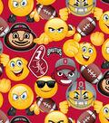 Ohio State University Buckeyes Cotton Fabric 43\u0027\u0027-Emoji