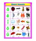 Carson-Dellosa Short Vowels Chart 6pk