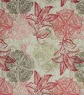 Home Decor Multi-Purpose Decor Decor Fabric 54\u0022-Xavier Blush