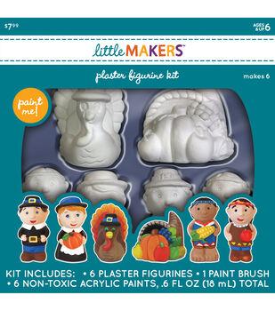 Little Maker's Fall Plaster Figurine Kit