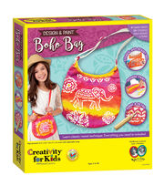 Creativity for Kids Design & Paint Boho Bag Kit, , hi-res