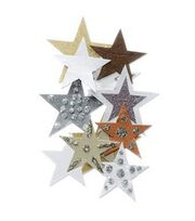Jolee's By You-Gold & Brown Stars, , hi-res