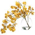 Bloom Room Luxe 24\u0027\u0027 Aspen Leaf Spray In Glass-Yellow