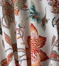 Waverly Sun N Shade Fabric-Jacobean Flair Peachtini
