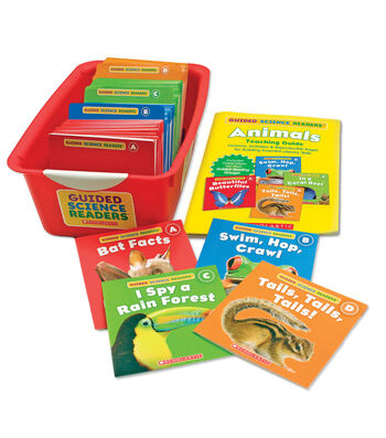 Scholastic Guided Science Readers Super Set: Animals, Grade K-1