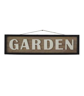 In the Garden Wooden Wall Decor-Garden