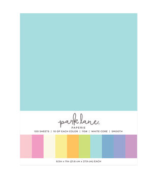 Park Lane 100 pk 8.5''x11'' Value Papers-Pastels