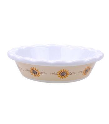 Simply Autumn Mini Pie Dish-Sunflower