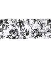 Tim Holtz Idea-ology Collage Paper 6''x6 yds-Botanical, , hi-res