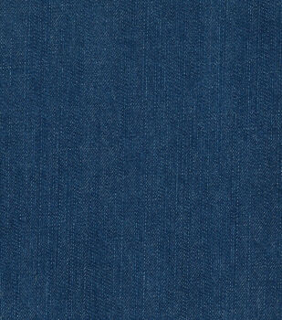 Bottom Weight Denim Fabric  12 oz.-Blue Texture